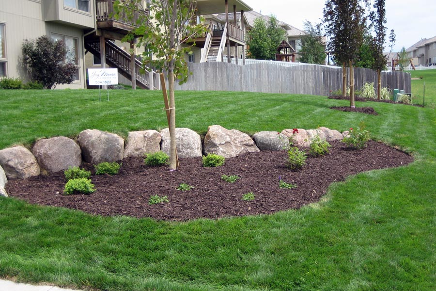 Landscape Design with Natural Boulders