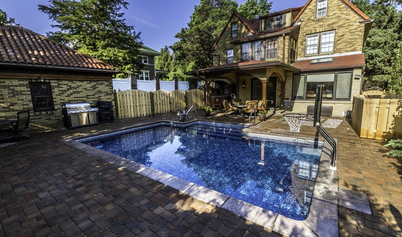 Backyard Pool Deck
