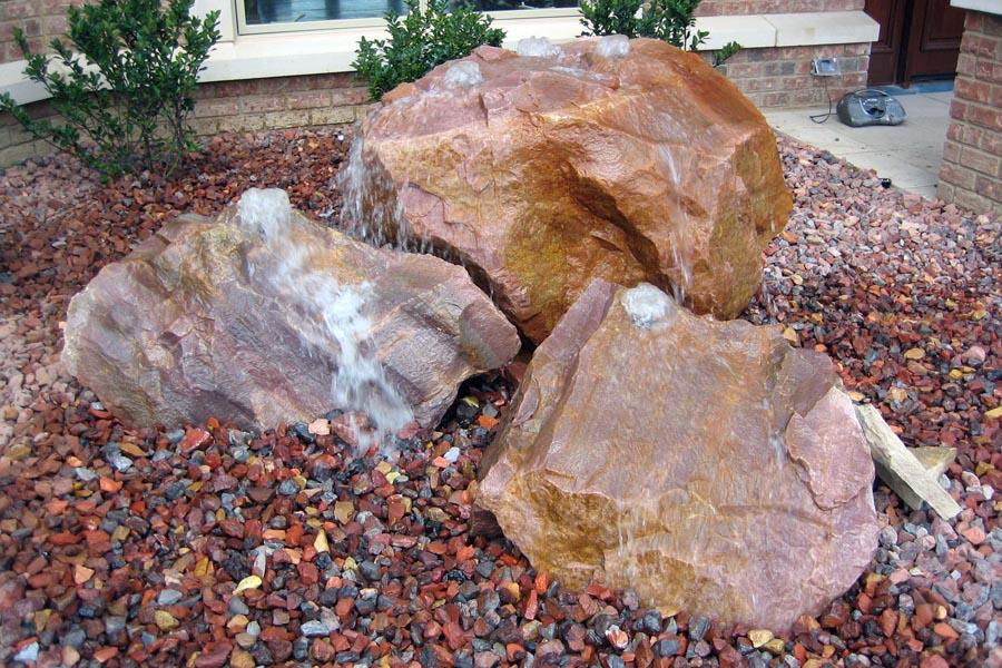 Multiple Bubbling Rocks